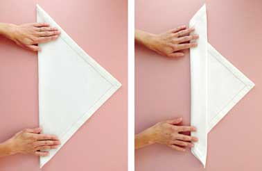 Pliage De Serviette En Tissu Pliage Serviette Tissu With
