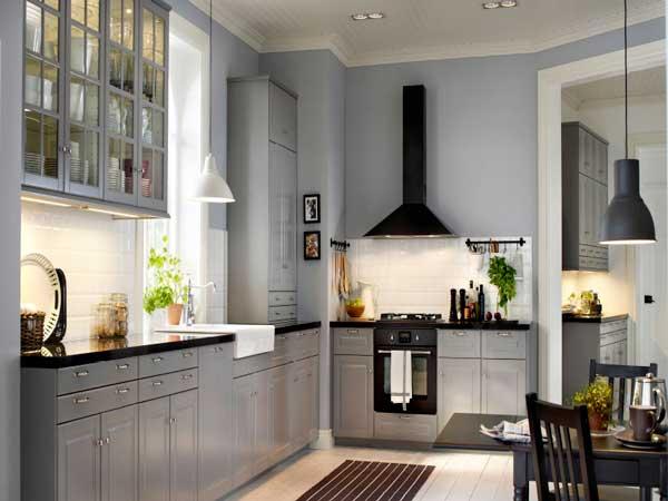 beautiful crdence imitation carrelage mtro blanc meubles de cuisine gris mtalliss et peinture