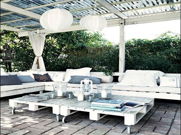 Faire un Salon De Jardin En Palette  DecoCool