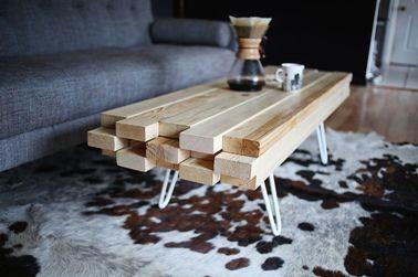 diy deco fabriquer une table basse