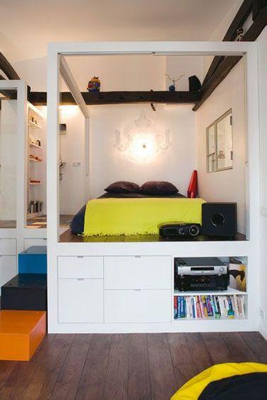 Chambre Avec Estrade Ado - Décoration de maison idées de design d ...