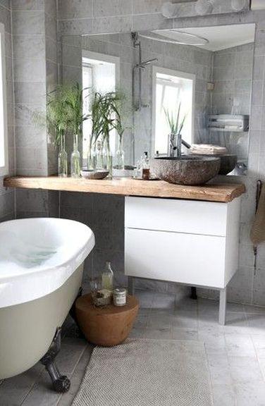 petite salle de bain deco cool