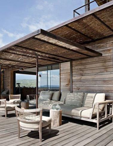 8 belles dco de terrasses abrites par une pergola