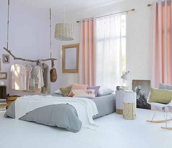Des rideaux bien choisis pour une dco de chambre au top