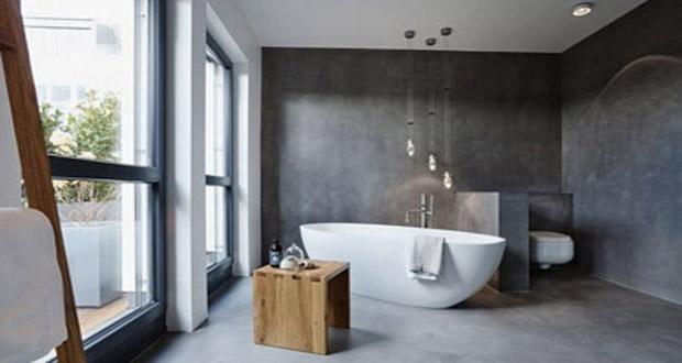 ideal pour relooker la salle de bain en un rien de temps le beton cire