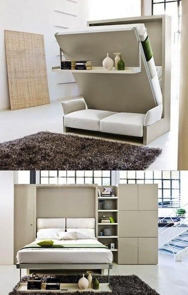 Lit Dans Une Armoire Maison Design