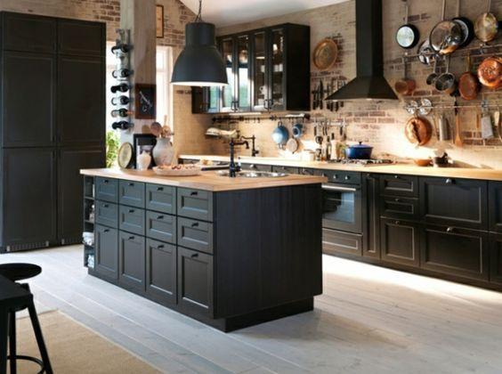 une cuisine noire elegance et