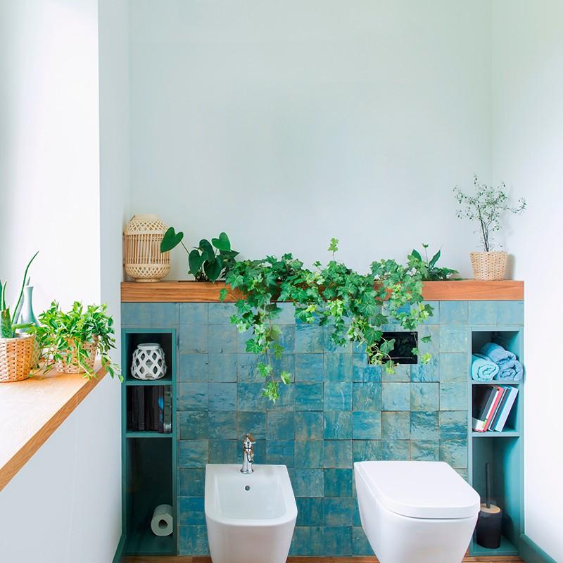 panneau zellige turquoise