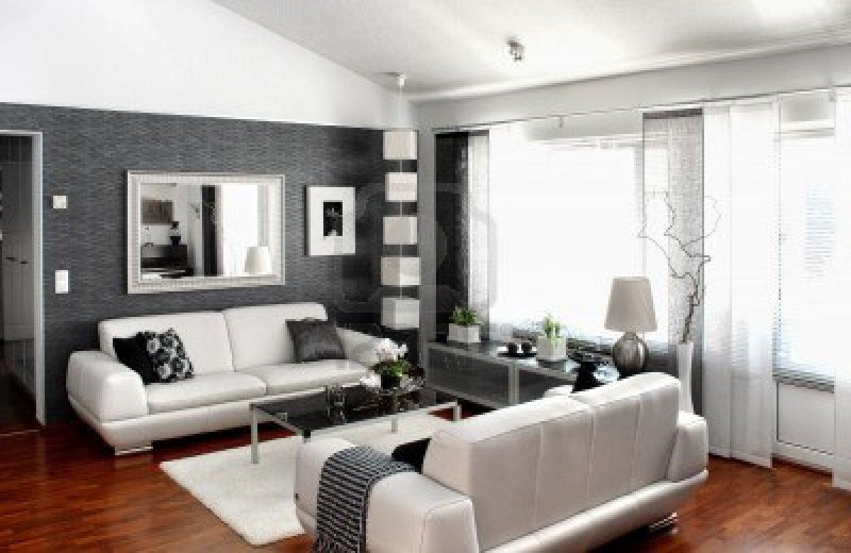 conseil idee deco salon gris et blanc