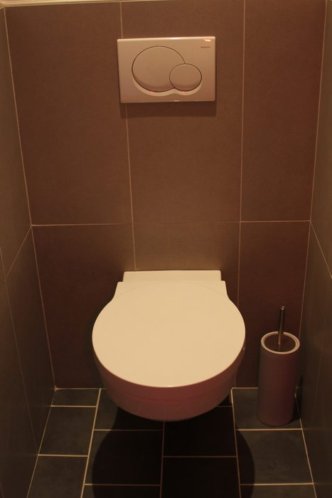 Ide Dco Wc Toilettes Taupe