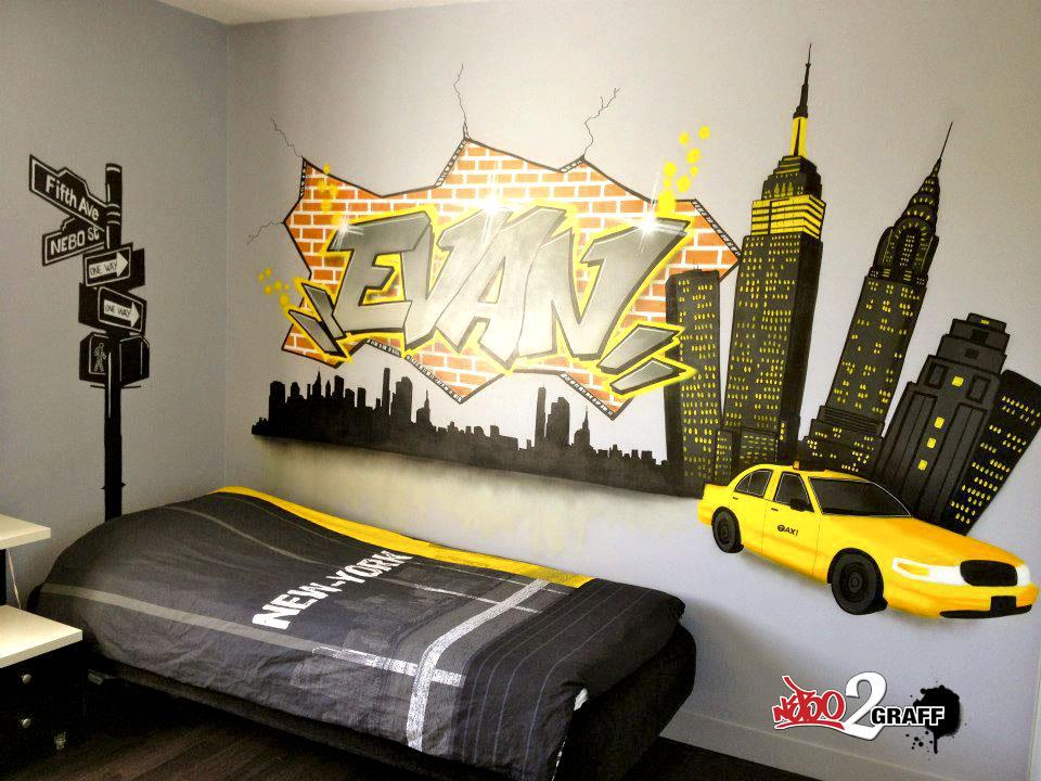 dcoration chambre dado new york