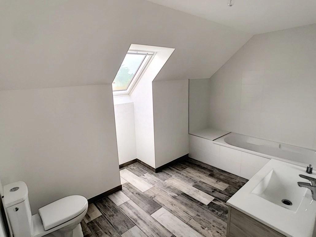 peinture blanche maison neuve deco peint
