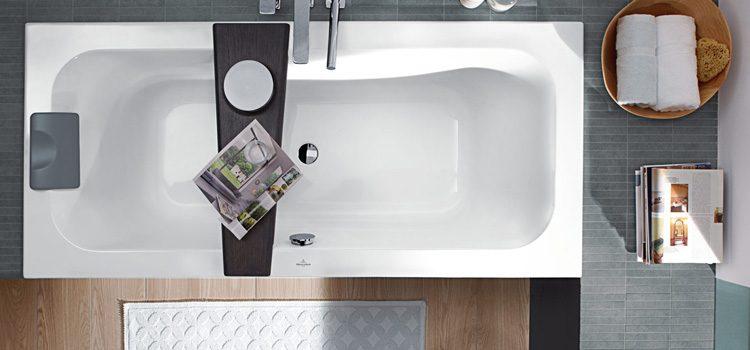 une baignoire pour une petite salle de