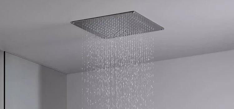 le ciel de pluie pour votre douche