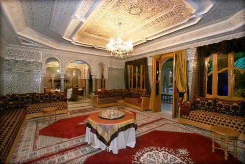 Salon du Maroc beldi dcoration orientale de luxe