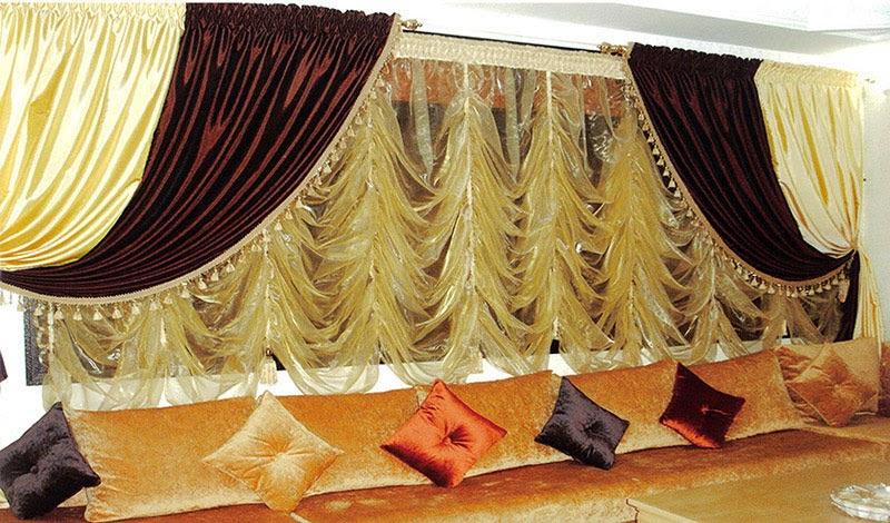 rideaux salon maroc deco salon marocain