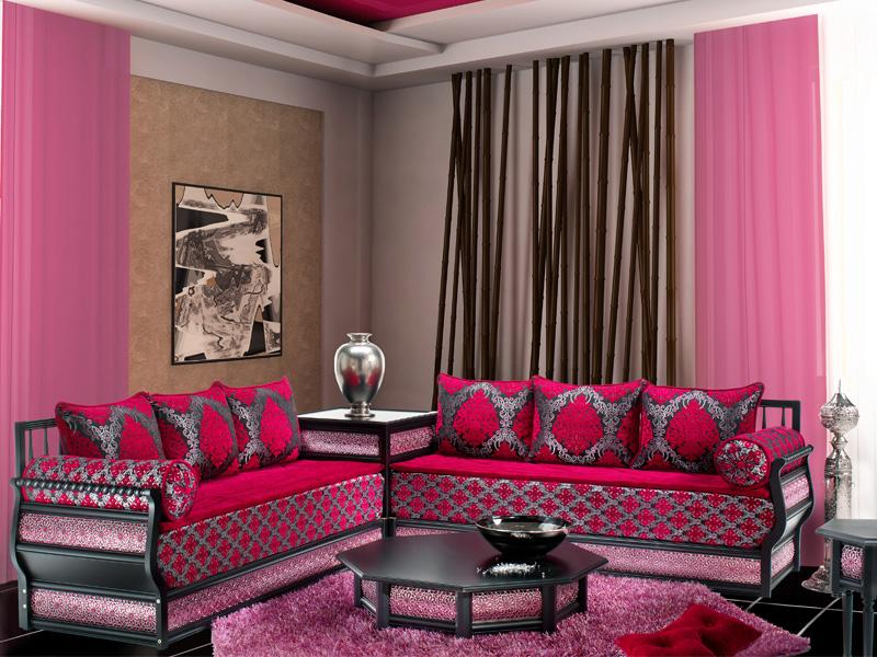 Photos de salon marocain design 2014