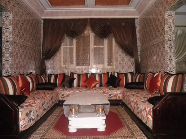 Lart de salon traditionnel marocain