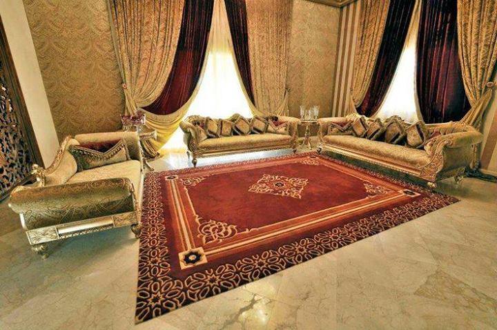 salon marocain de luxe couture traditionnel