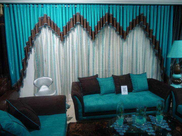 Rideaux salons marocains modernes