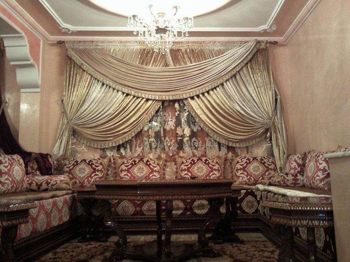 Canap Salon marocain et Fauteuil moderne