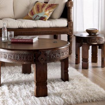 Table basse style oriental pour salon marocain  Deco
