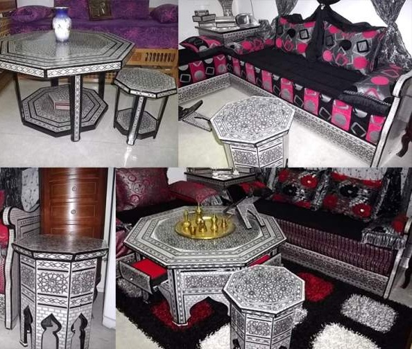 tapis pour salon marocain moderne