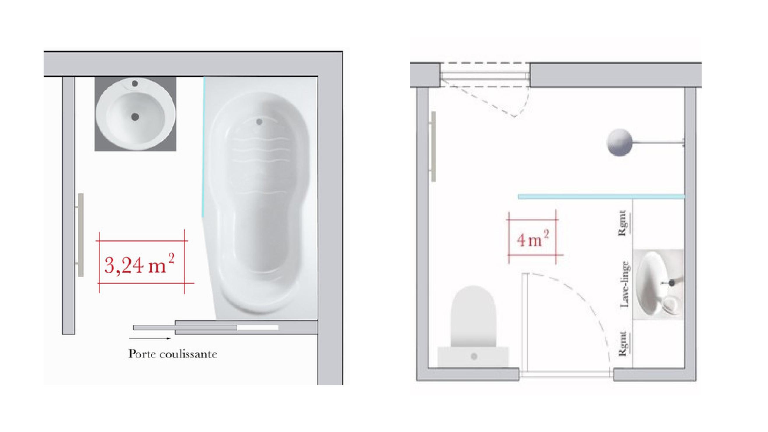 Conseils D Architecte 4 Plans De Salle De Bains Carree M6 Deco Fr