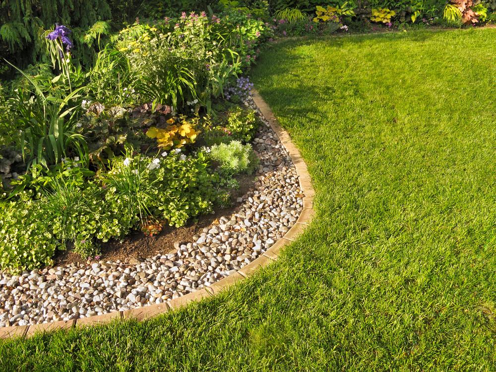 des bordures de jardin impeccables
