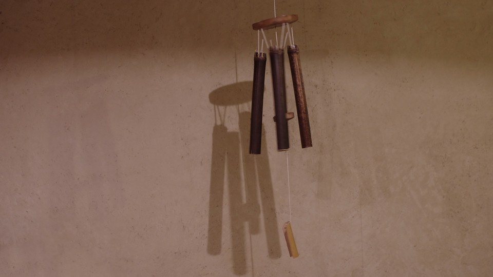 fabriquer un carillon a vent en bambou