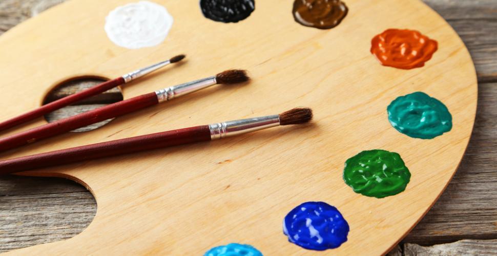 choisir une palette de peinture