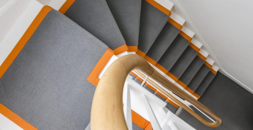 poser un antiderapant dans mon escalier