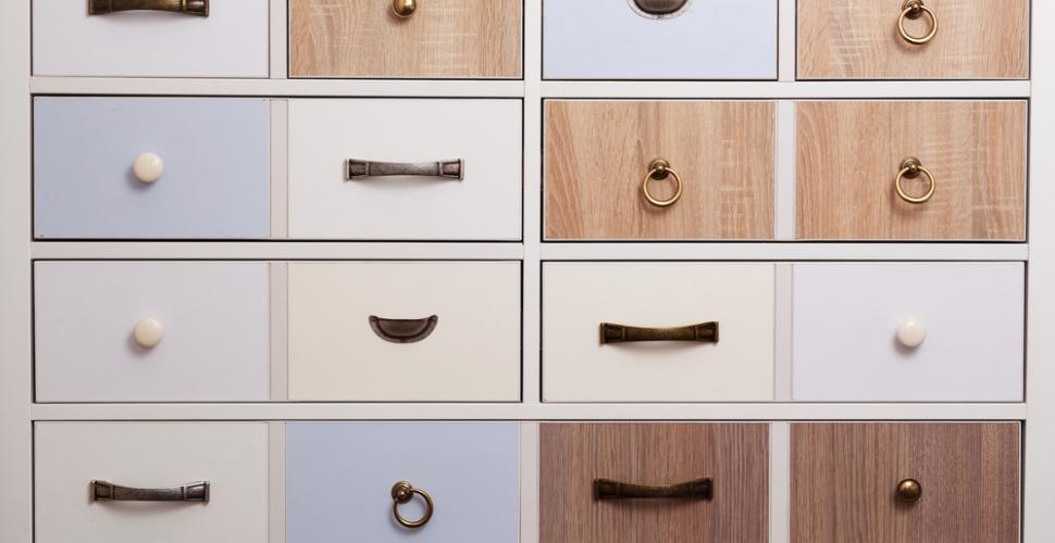 customiser ses poignees de meuble