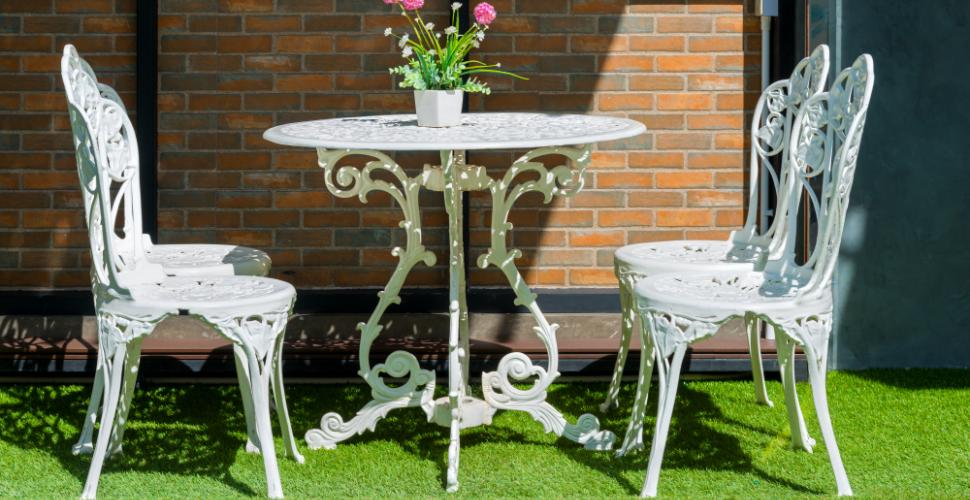 comment nettoyer son mobilier de jardin