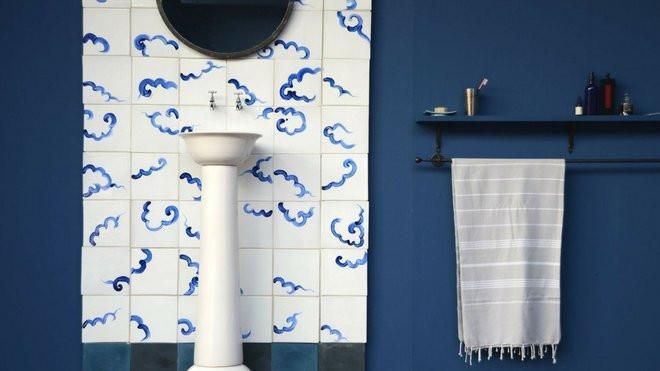 Salle de bains bleue  tous nos conseils pour russir sa dcoration  M6 Decofr