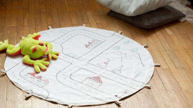 tuto fabriquer un tapis de jeu pour