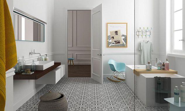 de sol choisir pour la salle de bains
