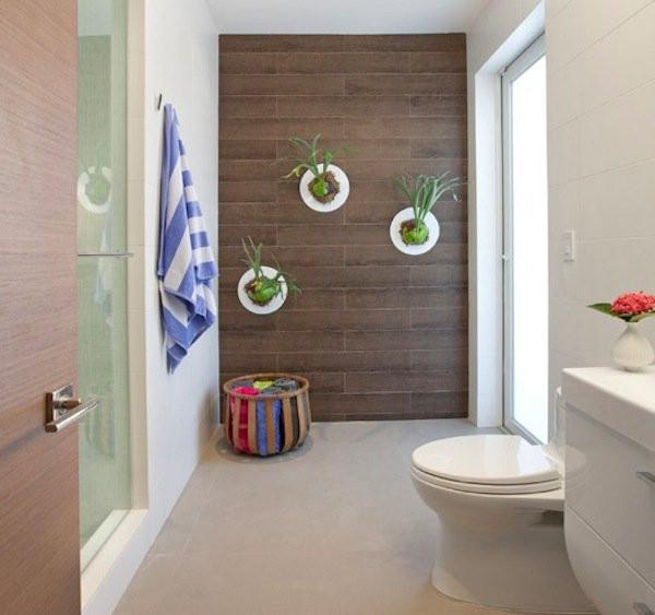 10 Idees Pour Decorer Les Murs De Votre Salle De Bains Diaporama Photo