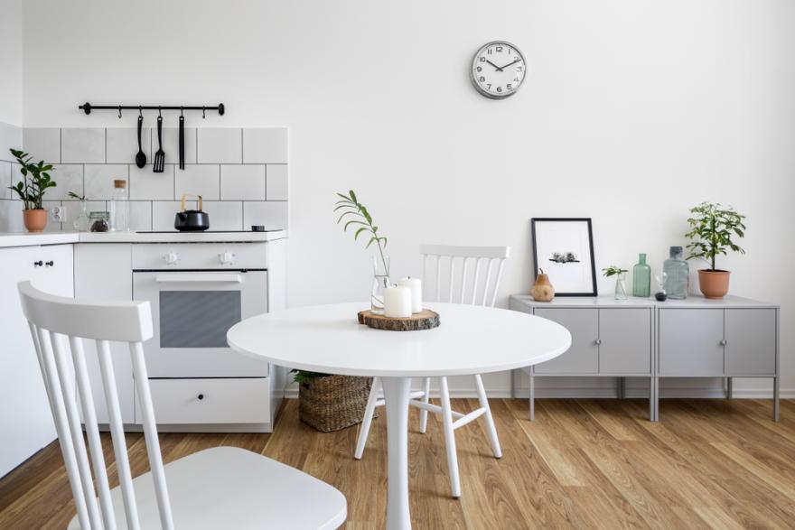 tables de cuisine pour petits espaces