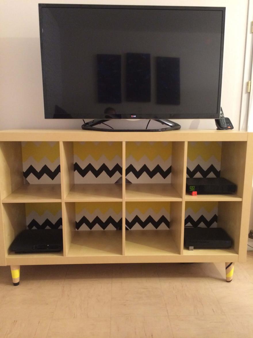 ikea hack fabriquer un meuble tv