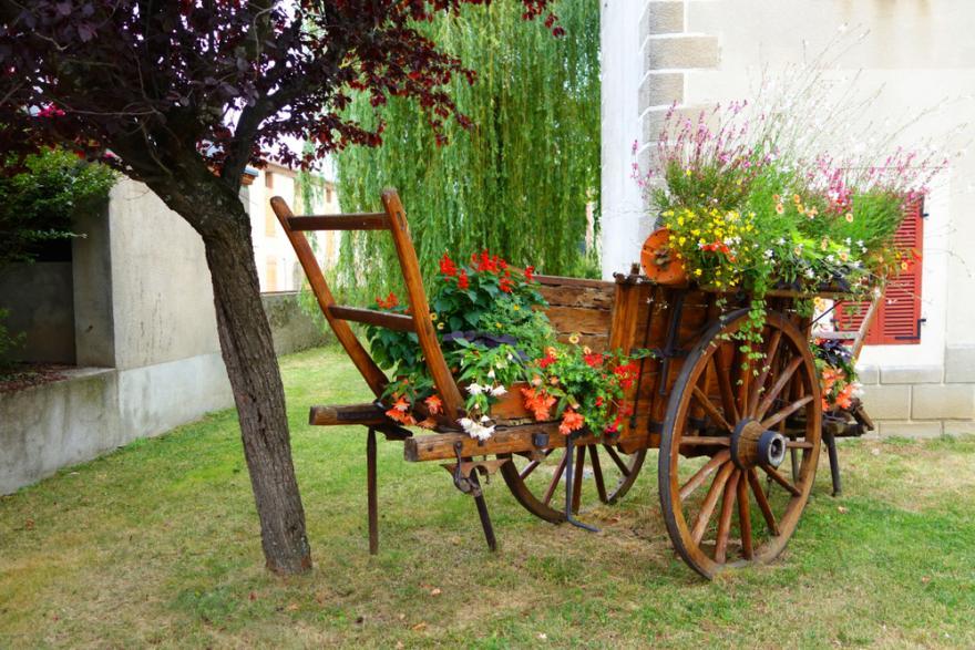 10 idees pour habiller le jardin