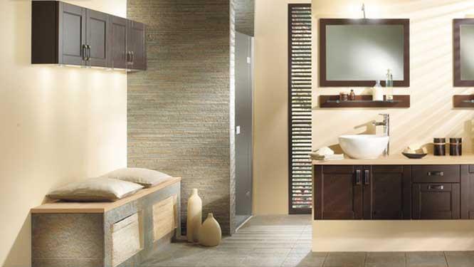 la salle de bains s inspire du salon