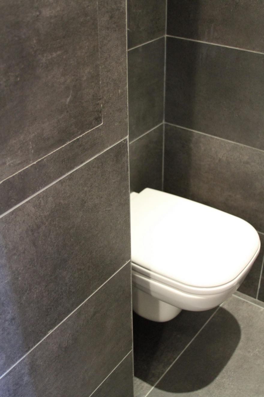 wc avec carrelage