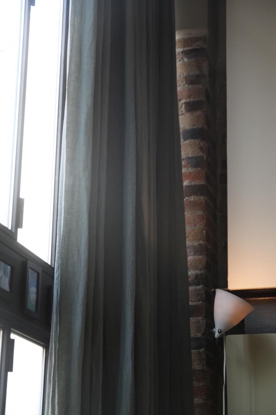 rideaux pour un style industriel