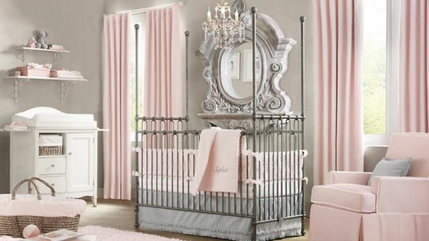 une chambre apaisante pour les bebes