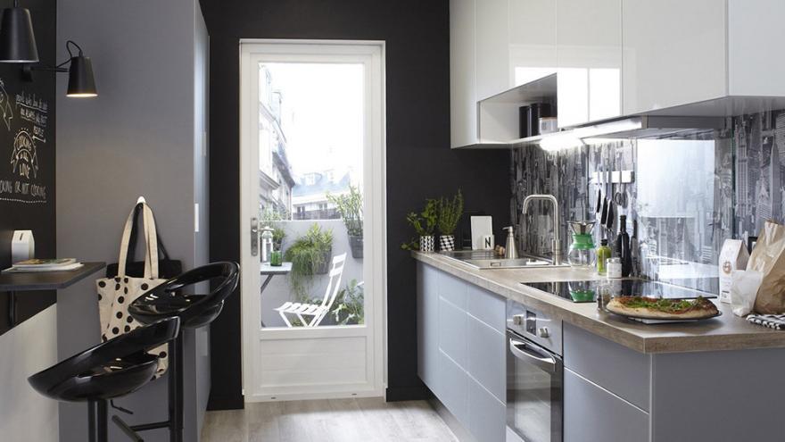 le noir mat dans la cuisine diaporama