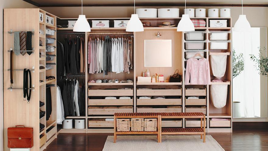 Dressing sous pente ikea pas cher ⭐ neuf et occasion ✌ meilleurs prix du web ✓ 3% remboursés minimum sur votre commande ! Le Dressing Selon Ikea Diaporama Photo