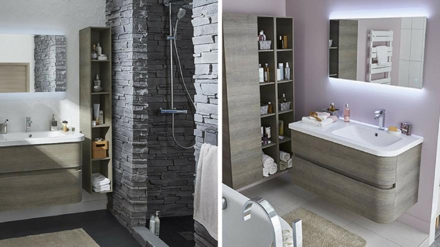 20 Idees Deco Pour Les Petites Salles De Bains Diaporama Photo
