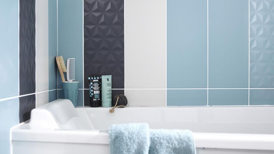 Le Bleu Couleur Ideale De La Salle De Bains Diaporama Photo