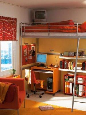 Dormitorio juvenil color y frescura  DecoActualcom